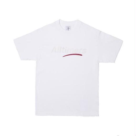 ALLTIMERS ESTATE TEE GLITTER INK WHITE