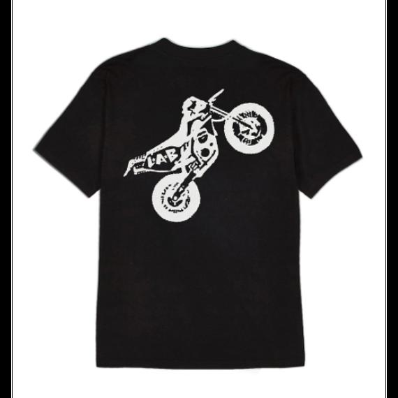 LIFE'S A BEACH LAB Dirt Bike Tee Black