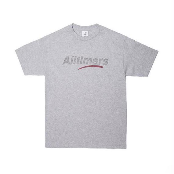 ALLTIMERS ESTATE TEE GLITTER INK HEATHER GREY