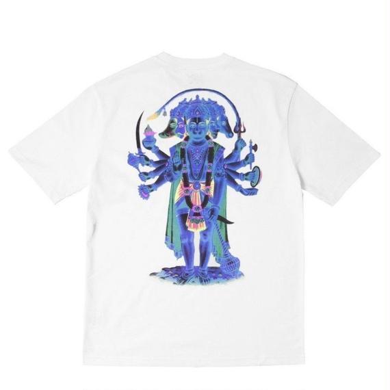 WAYWARD LONDON 'HANUMANDEM' Short sleeve T-shirt. White