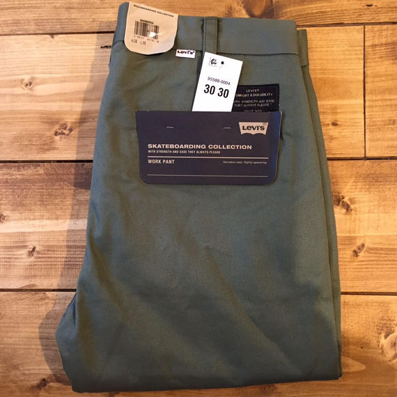 Levi's Skateboarding Skate Work Pants - Deep Light Green