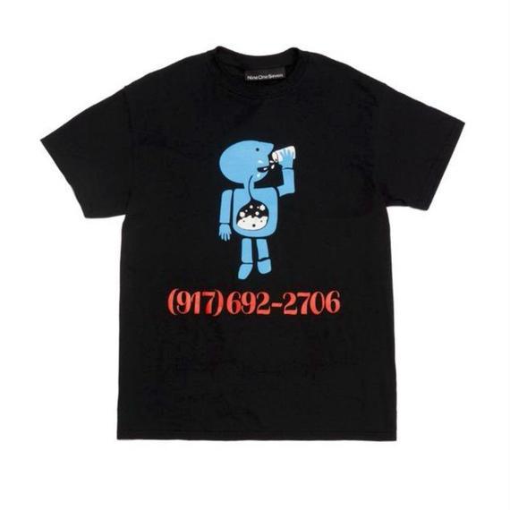 CALL ME 917 Aidan Mackey Pro Tee Black