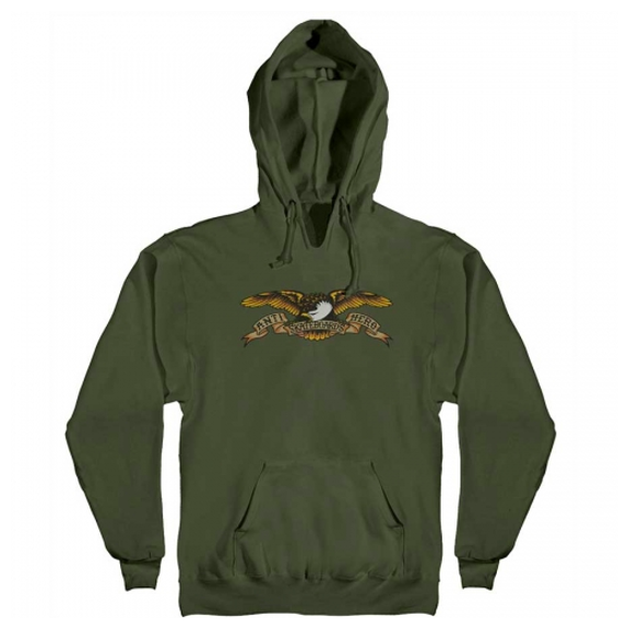 ANTI HERO EAGLE PULLOVER HOODY ARMY GREEN