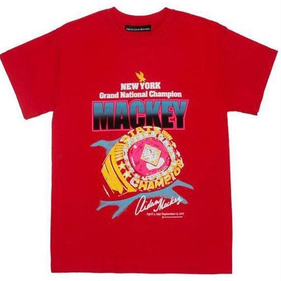 CALL ME 917 Mackey Tee Red