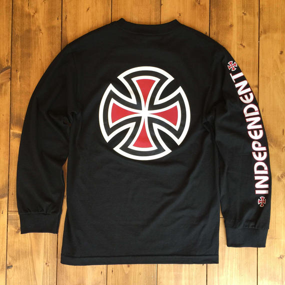 Independent truck Co. Bar/Cross L/S T-Shirt - Black
