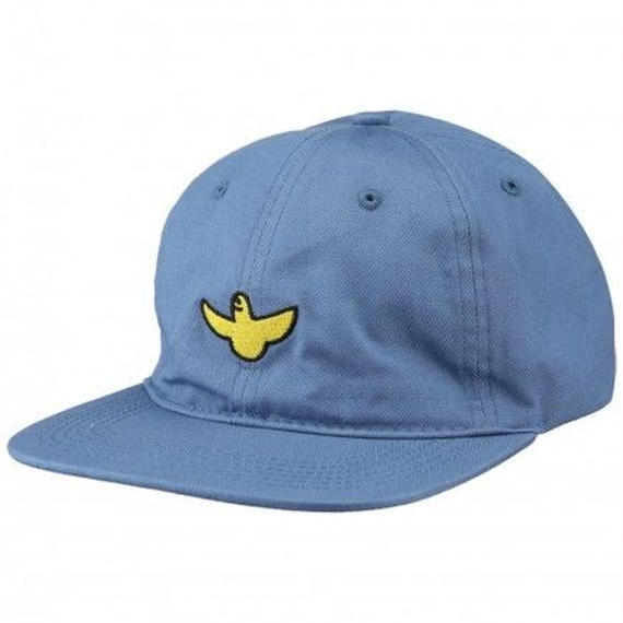 KROOKED OG BIRD UNSTRUCTUREDrooked STRAPBACK HAT INDIGO