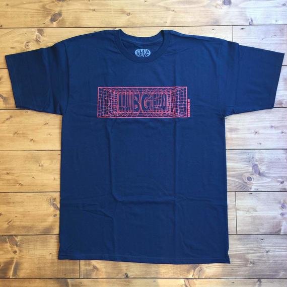 CLUBGEAR Matrix T-Shirt - Navy/ Red