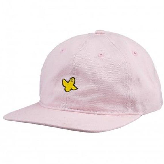 KROOKED YG BIRD UNSTRUCTIRED STRAPBACK HAT PINK
