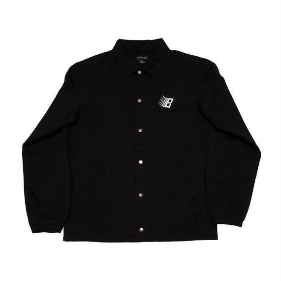 BRONZE 56K Century Gothic Paisley Coach Jacket Black/Red