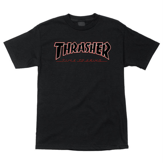 Thrasher TTG Regular S/S Independent Mens T-Shirt Black