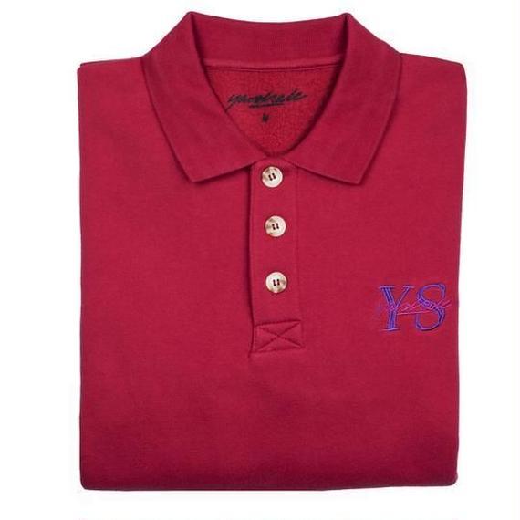 YARDSALE Red YS polo sweat