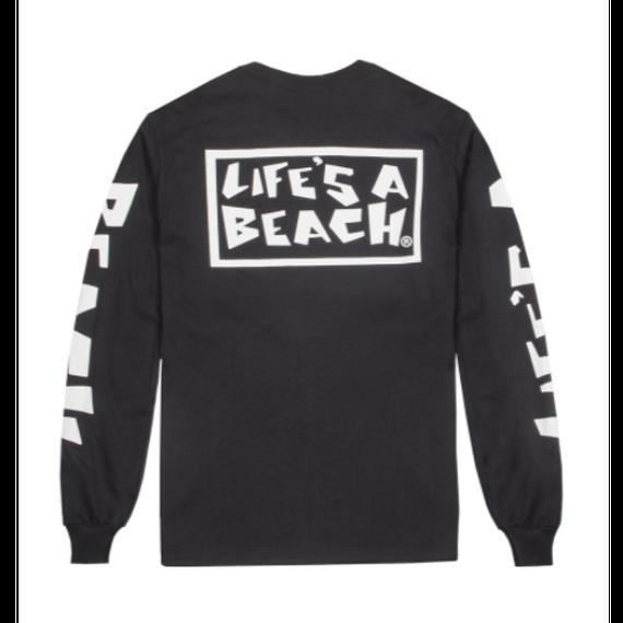 LIFE'S A BEACH LAB All Sleeve Black
