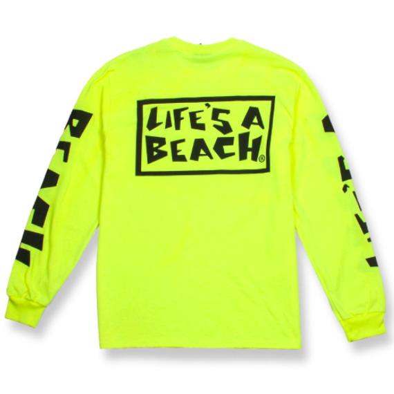 LIFE'S A BEACH LAB All Sleeve Fluro