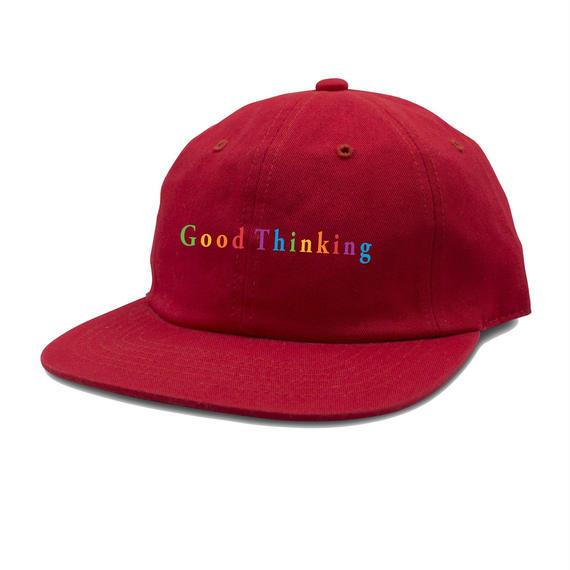 GOOD THINKING  THINK GOOD CAP Red