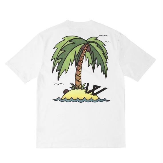 WAYWARD LONDON  'WASHED UP' Short sleeve T-shirt White
