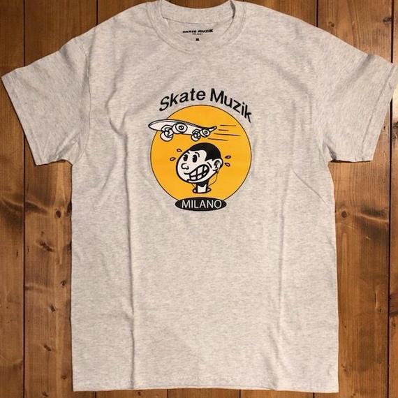 SKATE MUZIK RMX T-shirts Ash