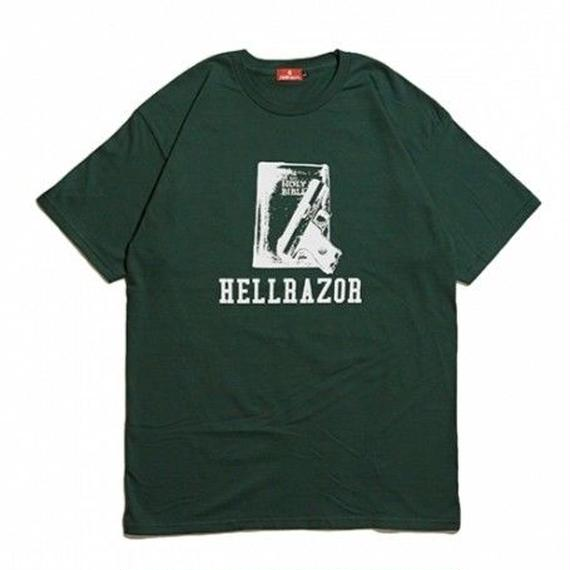Hellrazor Waiting for a call Shirt - Forest Green