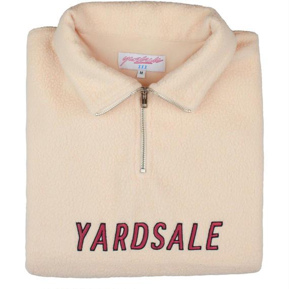 YARDSALE Cream Rosé fleece