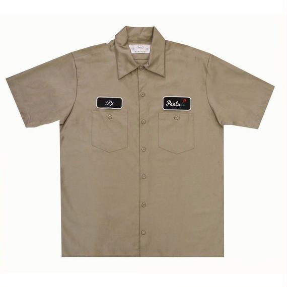 Peels NYC Rose Shirt Tan