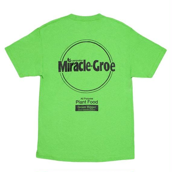 """Stingwater LIME GREEN T-SHIRT """"MIRACLE-GROE"""""""