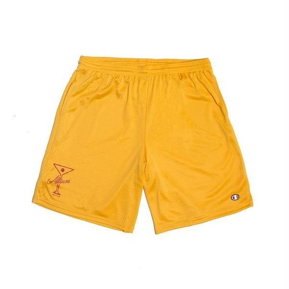 ALLTIMERS LEAGUE PLAYER SHORTS TEAM GOLD