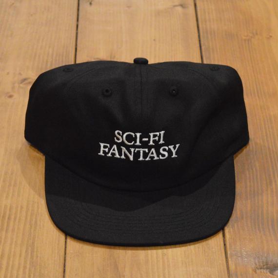 SCI-FI FANTASY 6-PANEL CAP BLACK