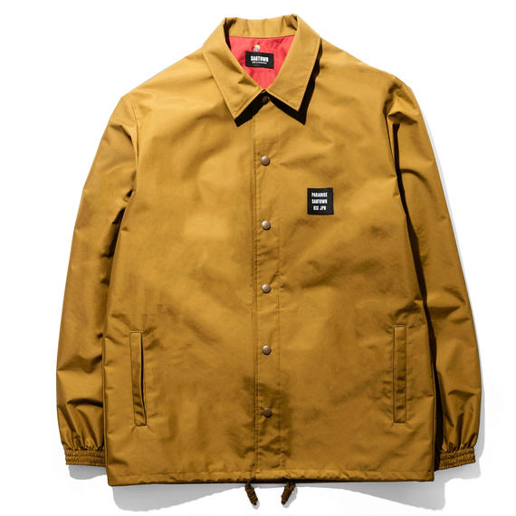 SANTOWN Hard Work Coach Jacket - Camel