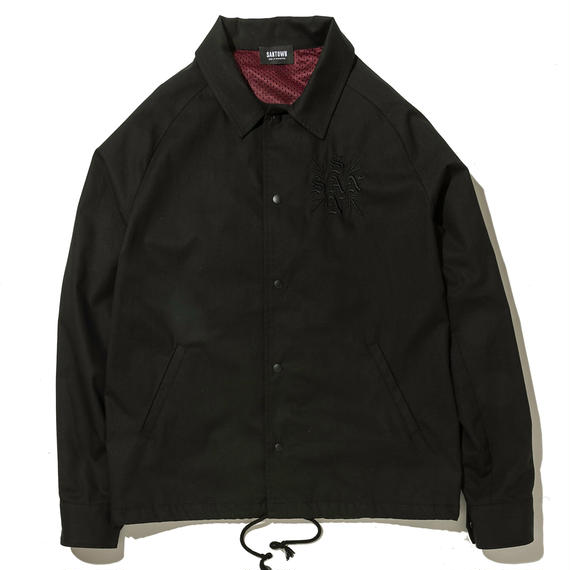 SANTOWN Spring Coach Jacket -  Black