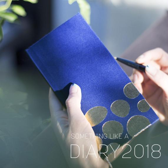 スケジュール手帳 DIARY2018 [NAVY]