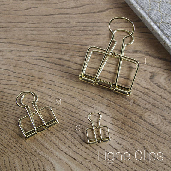 Ligne Clips クリップ  [GOLD]