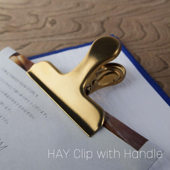 HAY CLIP CLIP / With Handle [GOLD]