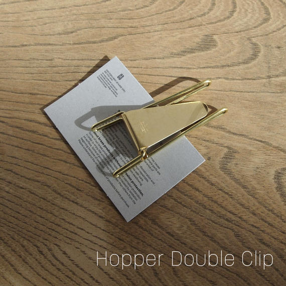 Hopper Double Clip マネークリップ [GOLD]