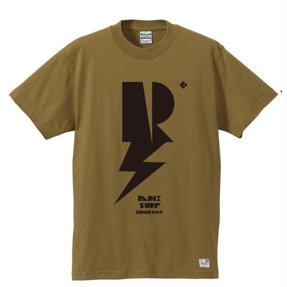 3月Tシャツ祭り!【RADIX ORIGINAL】2017 THUNDER TEE  color:サンドカーキ