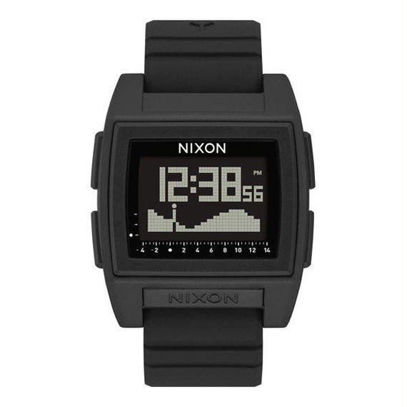 ニクソン サーフウォッチ!【NIXON】THE BASE TIDE PRO   color : Black