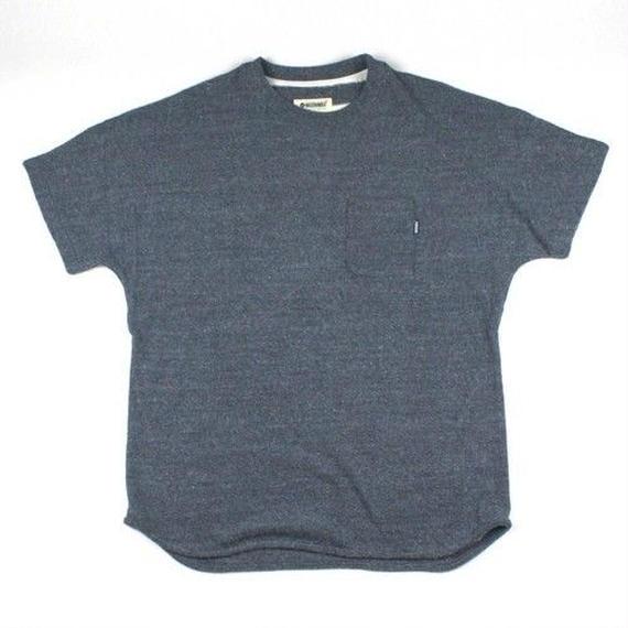 3月Tシャツ祭り!マジックナンバー【MAGIC NUMBER】W Pile Drop Tee  color:Blue