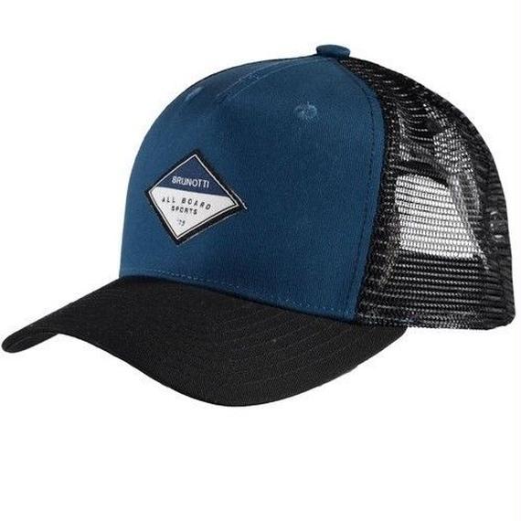 2018 CAP/HAT祭り! 日本市場本格上陸!先行販売!ブルノッティ【BRUNOTTI】Trucker Men Cap   color : Sailor Blue