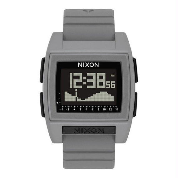 ニクソン サーフウォッチ!【NIXON】THE BASE TIDE PRO   color : Grey