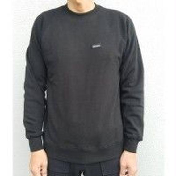 待望の日本上陸!【MADSON OF AMERICA】STAPLE CREW FLEECE   color :  Black