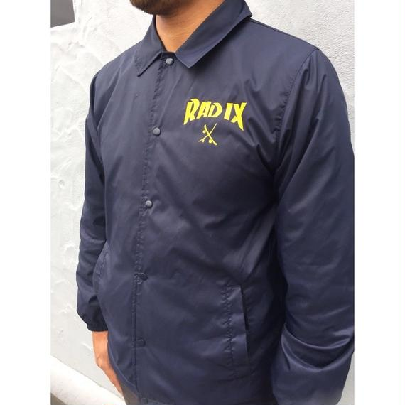 オールシーズン使える!【RADIX ORIGINAL】COACH JACKET  color : Navy