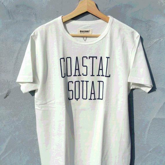 3月Tシャツ祭り!マジックナンバー【MAGIC NUMBER】コースタルプリントTシャツ カラー:ホワイト