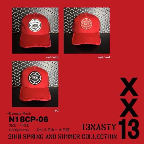 完全受注生産!2018 new model ナスティ【13NASTY】N18-CAP06