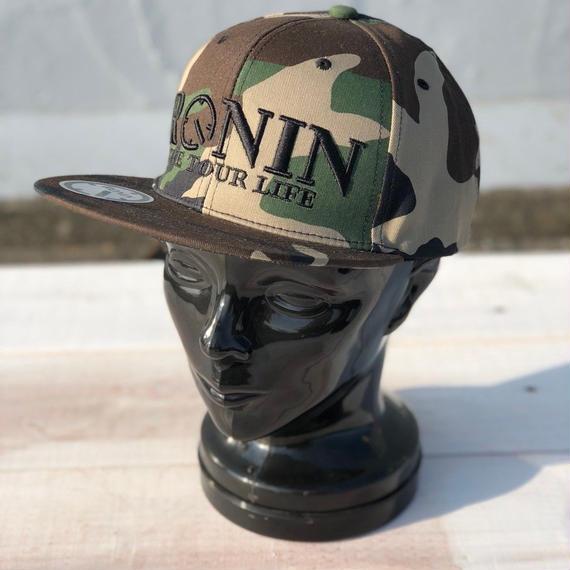 NEW ITEM ロニン【RONIN】LOGO BASEBALL CAP