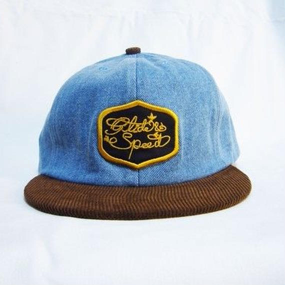 ヨシダキャップス【YOSHIDACAPS】glide&speed patch denim cap