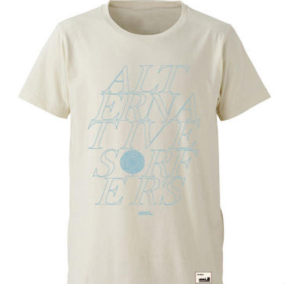 【JUSTICE】ALTERNATIVE TEE  color:Natural