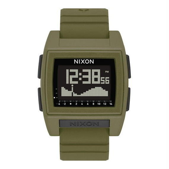 ニクソン サーフウォッチ!【NIXON】THE BASE TIDE PRO   color : Surplus