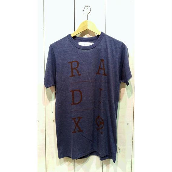 3月Tシャツ祭り!レイディックス【RADIX ORIGINAL】ロゴTシャツ カラー:ブルー