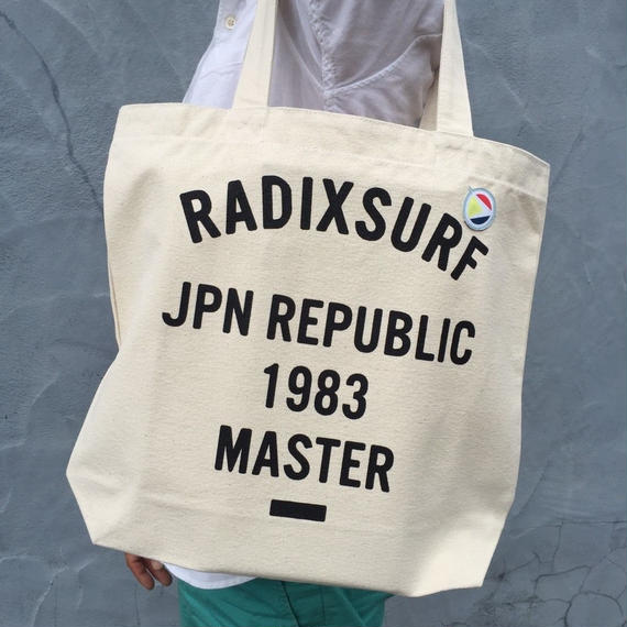 【RADIX ORIGINAL】トートバッグ  color:Natural