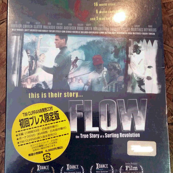 【DVD】FLOW the True Story of a Surfing Revolution