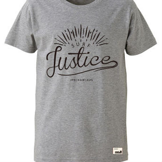 【JUSTICE】SUNRISE TEE  color:Ash Gray