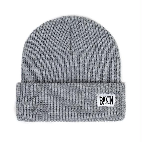 ブリクストン【BRIXTON】LANGLEY BEANIE   Color: LIGHT HEATHER GREY